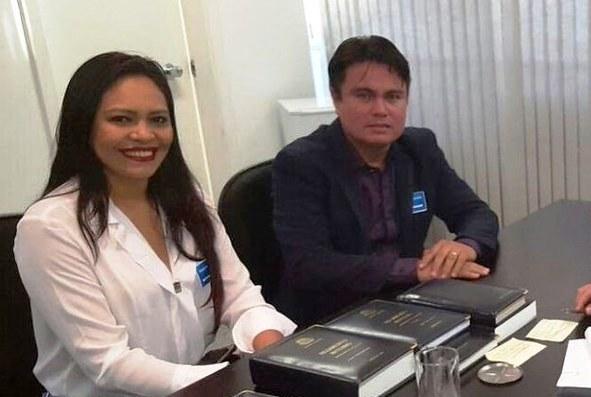 Certidão diz que candidata do MDB está com diretos políticos cassados; veja o documento