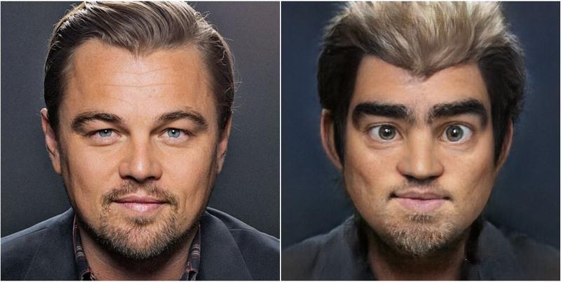 Leonardo DiCaprio Transform into Disney characters using neural networks