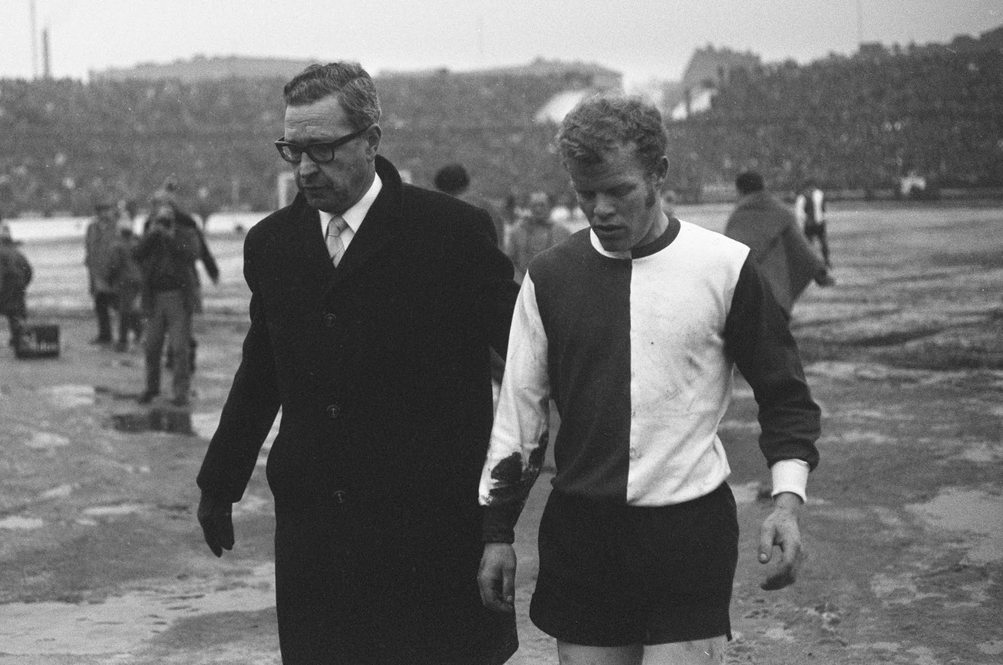 Piet Romeijn en Max Abarbanel