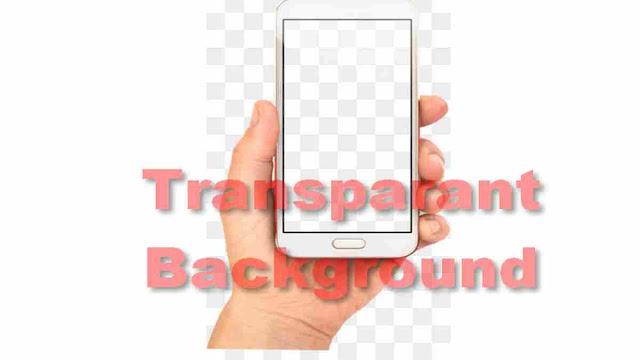 mengganti latar layar android transparant