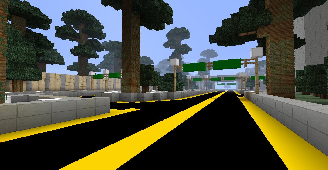Minecraft Highway Bridge