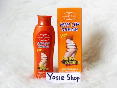 Hip Up Cream Original Pengencang dan Pembesar Bokong Alami
