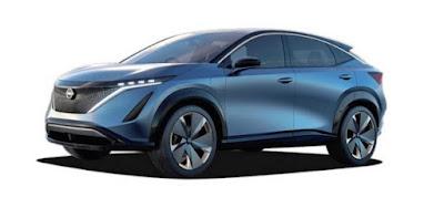 سيارة نيسان أريا Nissan Ariya الكهربائية  سيارة نيسان Ariya الكهربائية