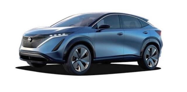سيارة نيسان أريا الكهربائية Nissan Ariya electric