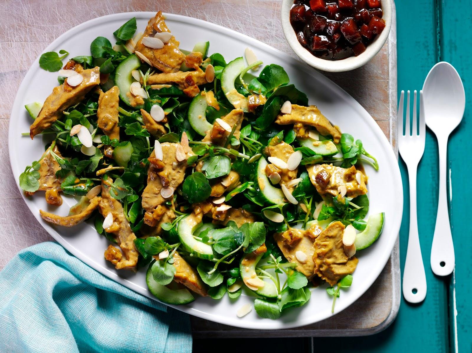 Coronation Turkey Salad