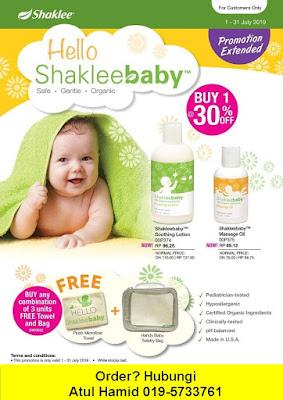 Promosi Shaklee Julai 2019
