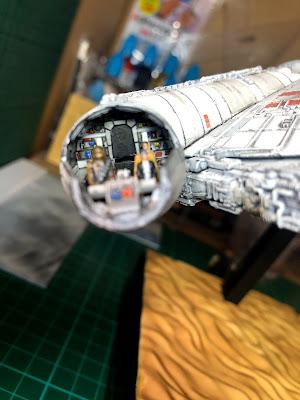 Bandai Millennium Falcon Cockpit