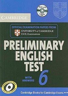 Cambridge Preliminary English Tests 6