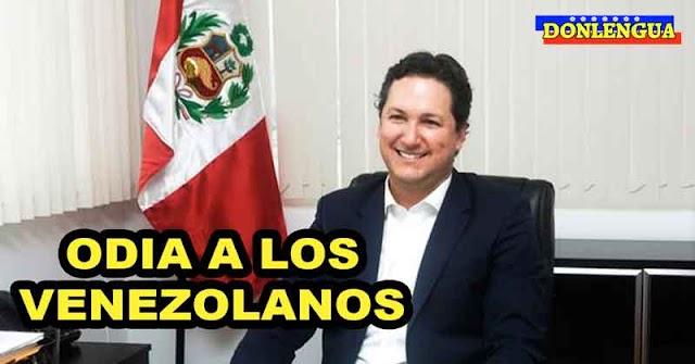 Daniel Salaverry dice que los Venezolanos no pueden hacer lo que les dé la gana