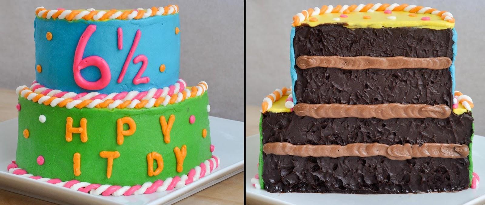 Beki Cooks Cake Blog HalfBirthday HalfCake