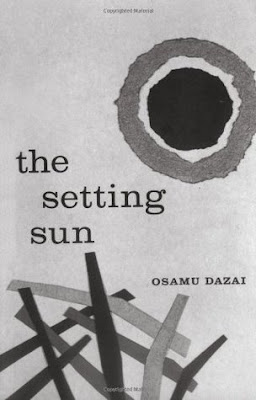 The Setting Sun by Osamu Dazai book cover 1956 edition