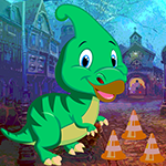 Games4king Parasaurolophus Dinosaur Escape Walkthrough