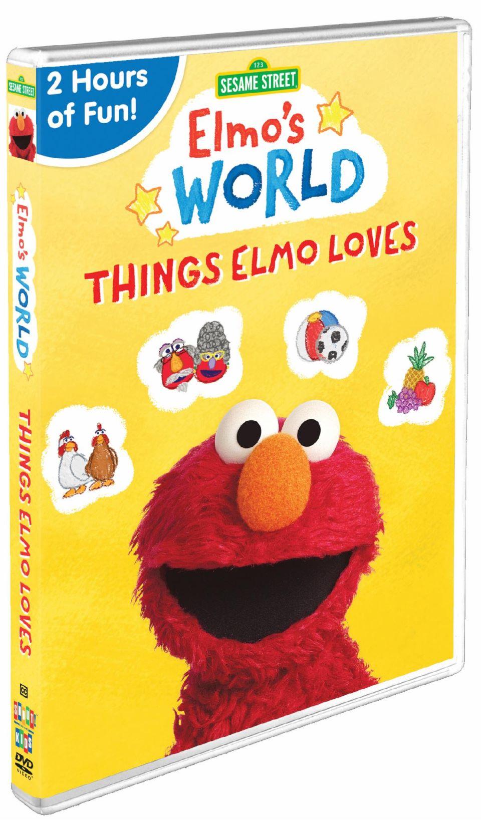 Sesame Street release Elmo's World: Things Elmo Loves DVD Giveaway