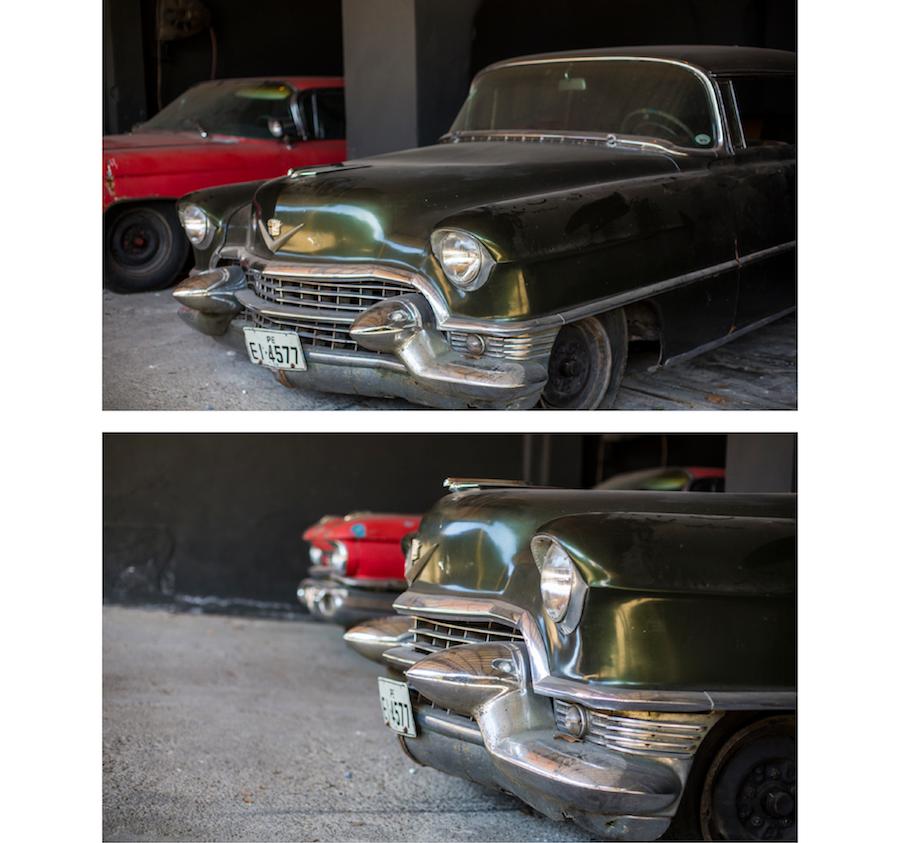 vintage car milan