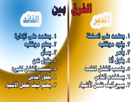 الفرق بين القائد والمدير فروقات لم تكن تعرفها المطور السوداني