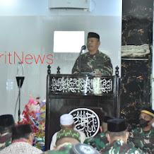 Personel Korem 141/Toddopuli Sul-sel, Balakrem dan PNS Korem 141/Tp, Laksanakan Maulid Nabi Muhammad SAW 1443 H/2021 M