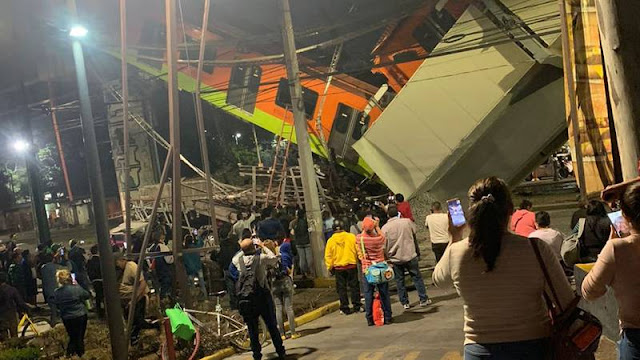 Video: Noche Trágica, Así colapso la estructura con todo y vagones de la linea 12 del metro, 13 muertos y 70 heridos, saldo preliminar