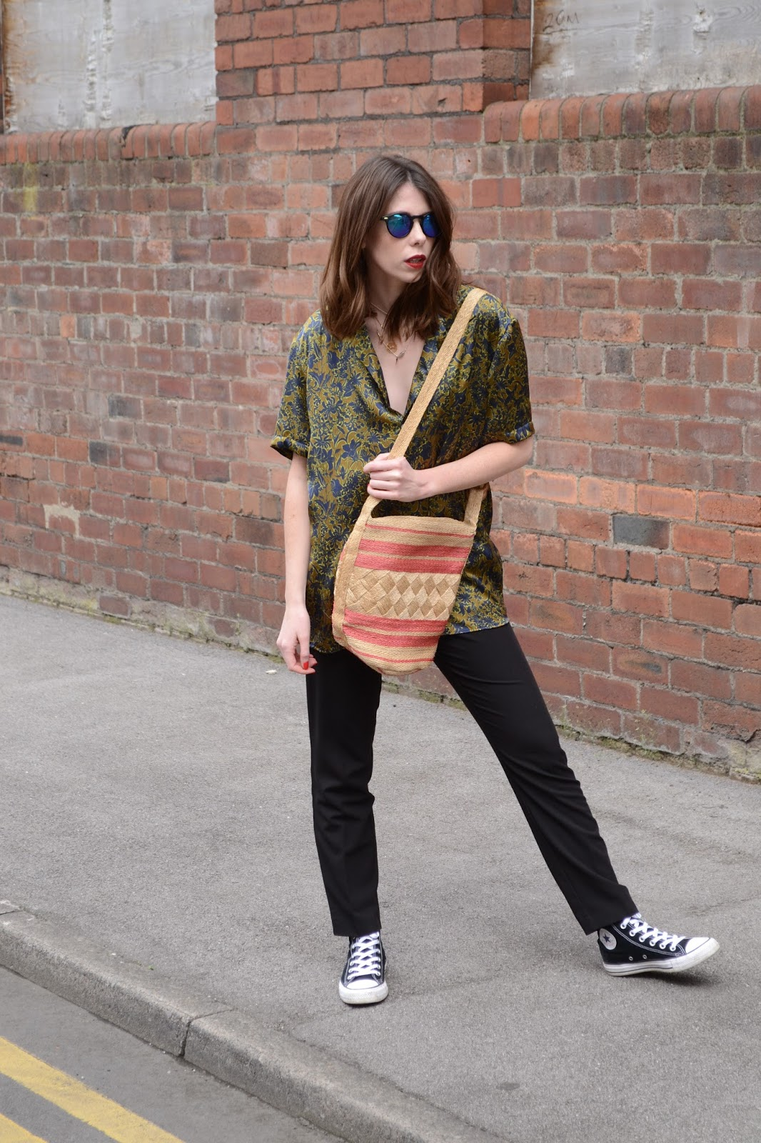 5 Simple Tips That Will Help You Get Ready Quicker, Topshop, Zara, Converse, Straw bag