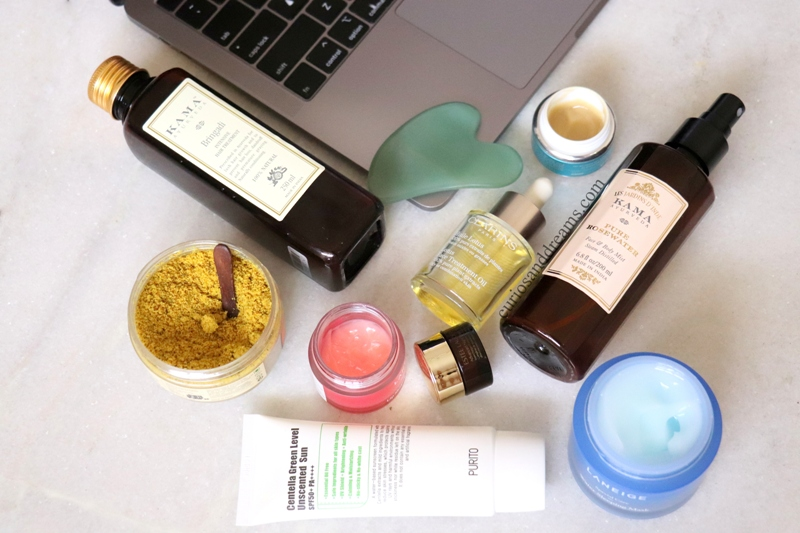 work from home beauty rotuine, beauty care from home, skincare from home, Self Care from home, indian skincare