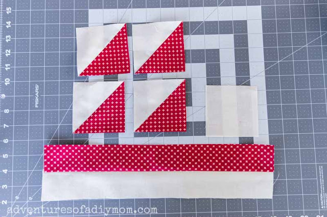 fabric blocks and strips