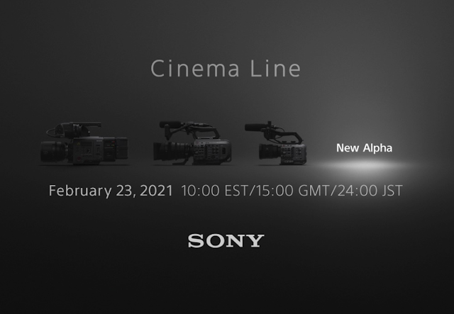 Sony Cinema Line - New Alpha Camera