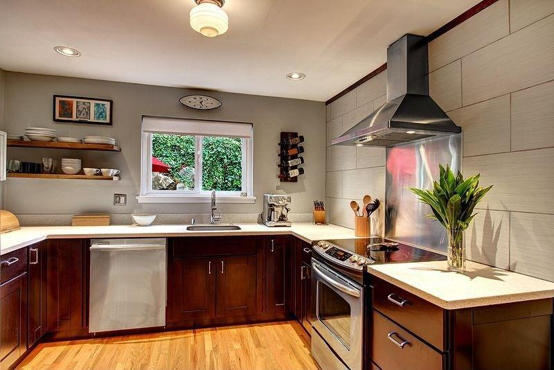 Small Kitchen Without Upper Cabinets Home Interior Exterior Decor Design Ideas