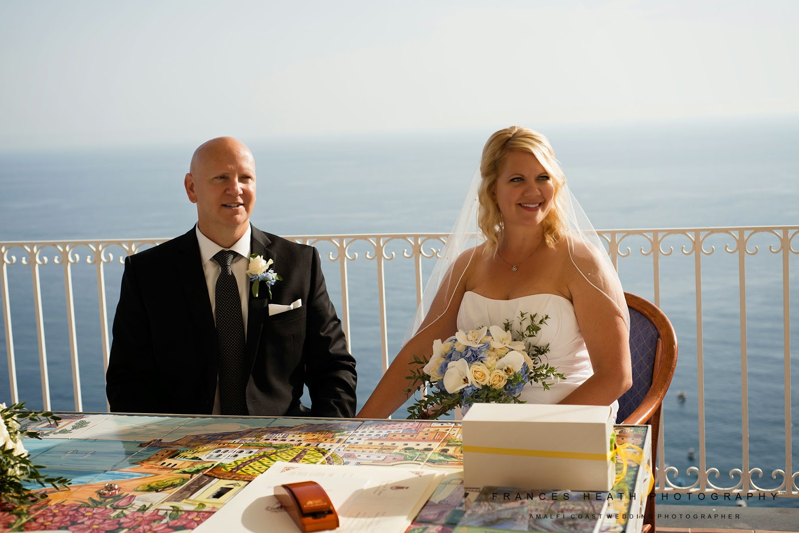 Wedding civil ceremony Positano