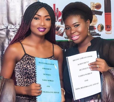 belinda effah prestige cosmetics nigeria