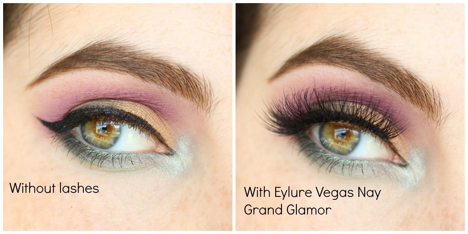 fdb92470065 PittPantherMUA: Review: Eylure Vegas Nay Lashes in Grand Glamor