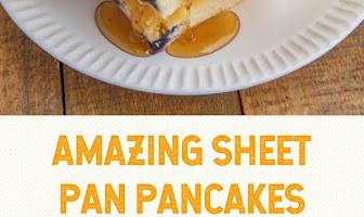 AMAZING SHEET PAN PANCAKES