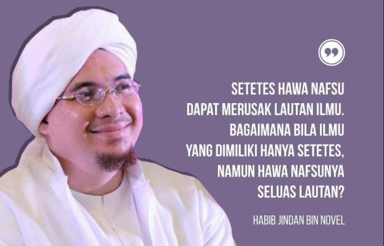Kata Mutiara Habib Jindan bin Novel bin Jindan