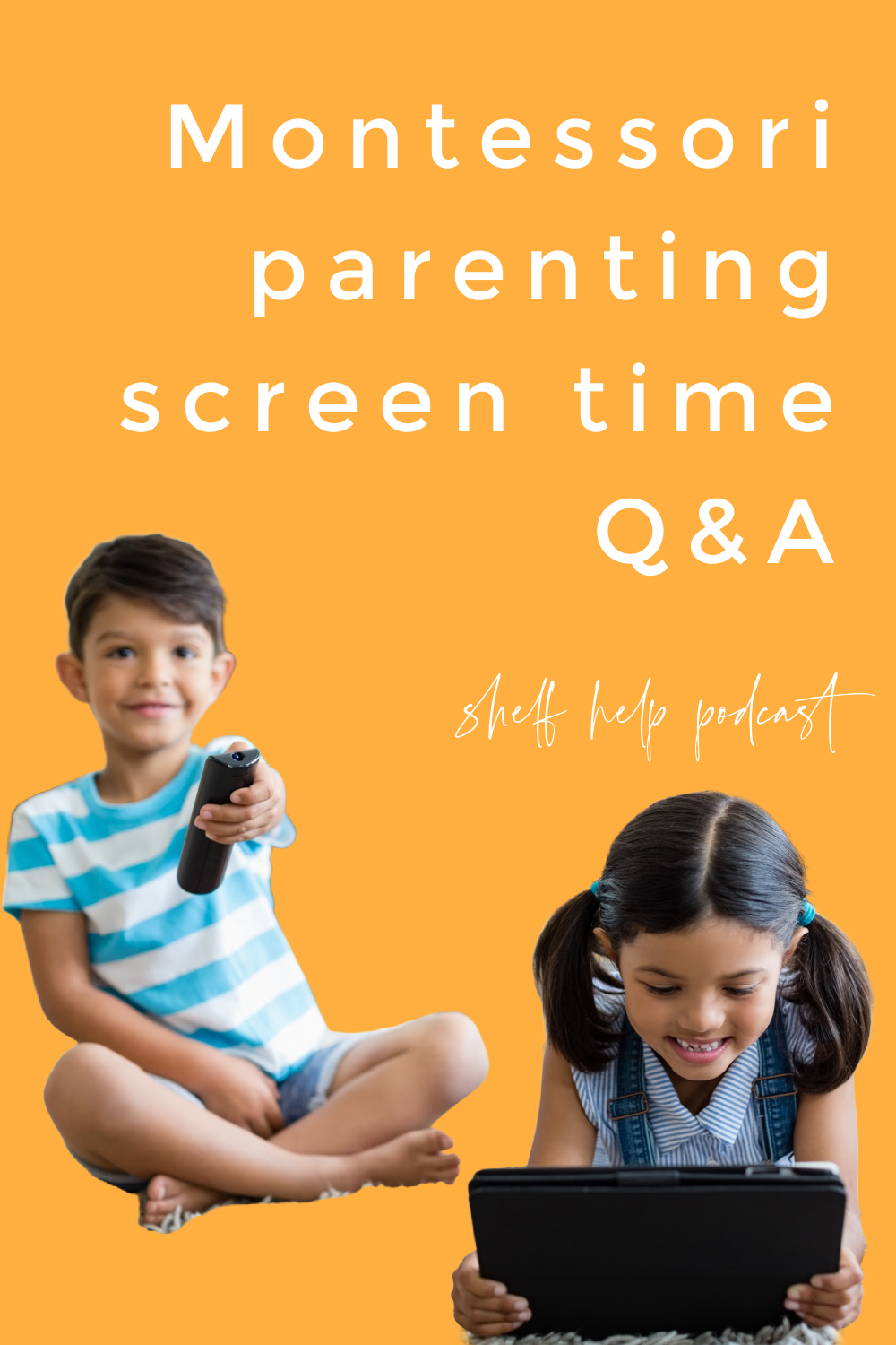 In this Montessori parenting podcast we answer listeners questions on how we approach tricky screen time situations including travel and in public.