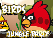 Angry Birds Jungle Party