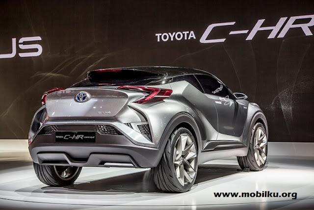 keunggulan dan kelemahan, Toyota C-HR, eksterior, spesifikasi, harga, indonesia, 1200 cc