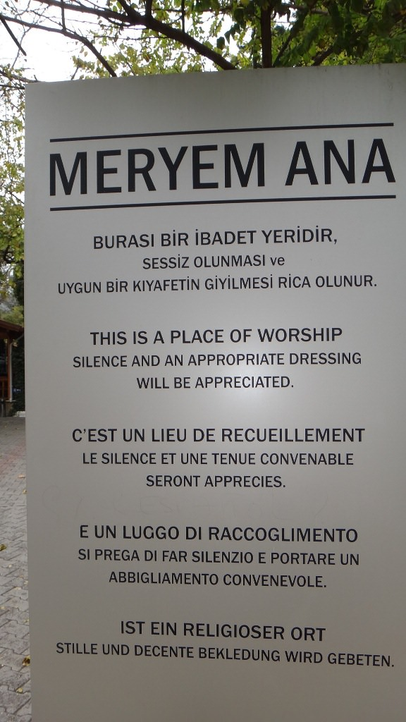 Casa de Maria na Turquia