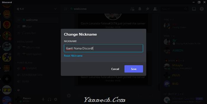 Cara Ganti Nama Discord, Gampang!