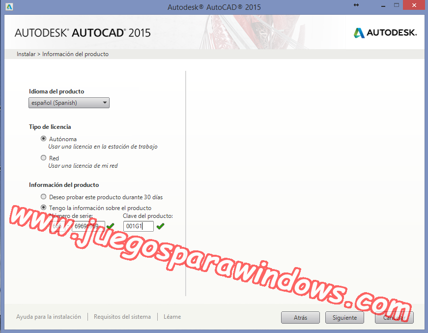 AutoCAD 2015 Full PC ESPAÑOL INGLES 32 y 64 Bits (XFORCE) 2