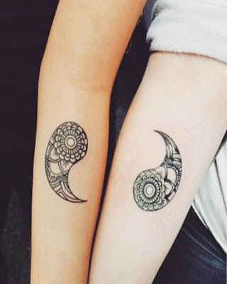 Ideas de tatuajes de PAREJAS tumblr creativos de moda