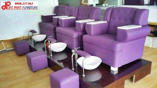 ghế làm nail, ghe nail, ghế nail giá rẻ, ghế salon,