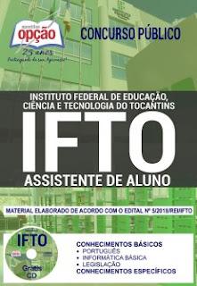 apostila-concurso-IFTO-2018-assistente-de-alunos