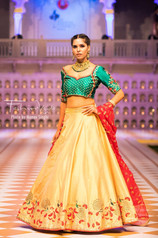 Collection by Sakh Jaipur - Neha Khatri at Fashion Connect Show, Jaipur.