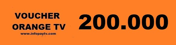 Voucher Orange TV 200 Ribu