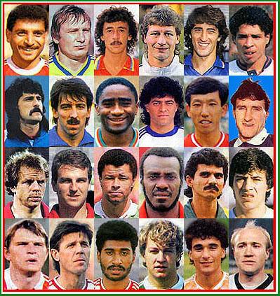 Los rostros de la Copa Mundial