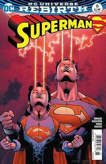 Superman 6 rebirth cover