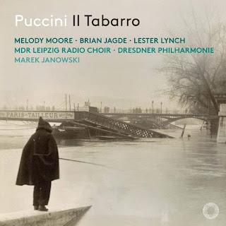 Puccini Il Tabarro; Melody Moore, Brian Jagde, Lester Lynch, Dresdner Philharmonie, Marek Janowski; PENTATONE