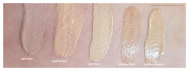 Neve Cosmetics Shades Creamy Confort