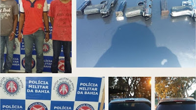 Policiais de Alagoinhas frustram assalto e recuperam R$ 14 mil