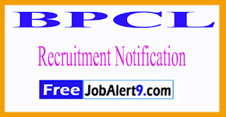 BPCL Bharat Petroleum Corporation Limited Recruitment Notification 2017 Last Date 20-06-2017