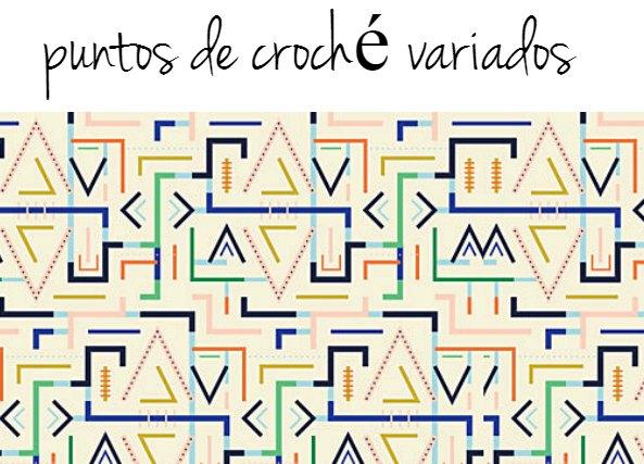 Tecnica Puntada Crochet Racimo