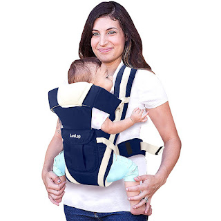 LuvLap Elegant Baby Carrier with 4 carry positions